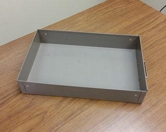 Small Metal File Drawer
