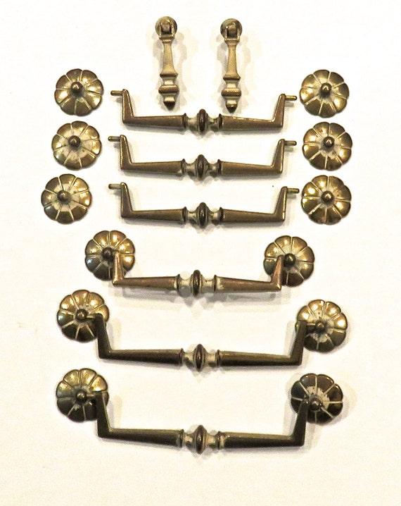 Inspirational Antique Brass Cabinet Pulls