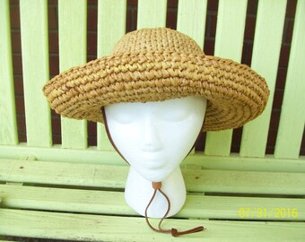 Karen Hartfield Original Handmade Upturn Brim Hat, Made in Montana, USA