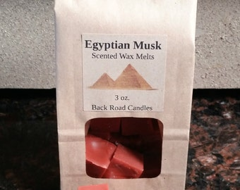 Egyptian Musk Scented Wax Melt Cubes