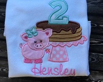 Pancake Shirt, Pancake Birthday Shirt, Pancake Birthday, Girl Birthday Shirt, Birthday Shirt, Pig Birthday, Pig Shirt, Pig, Pancake