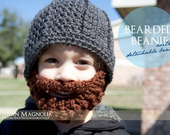 Bearded Beanie (with detachable beard)