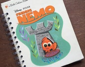 Just the Covers // Finding Nemo Little Golden Book Notebook