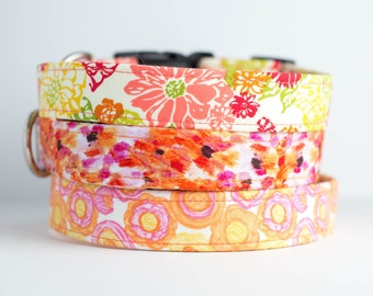 Spring Dog Collar - Citrus Punch Collection