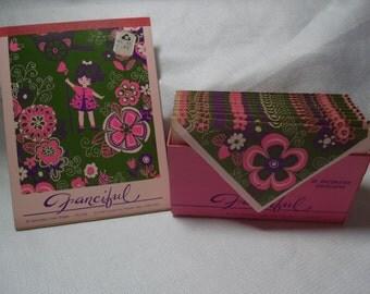 Vintage Envelopes, 1960's Envelopes, Daisy Envelopes, Vintage Writing Paper