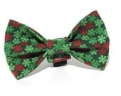 Christmas Bow Tie, Snowflake Bow Tie, Christmas Dog Bow Tie, Dog Bow Tie, Bowtie, Christmas Bow, Doggy Bowtie