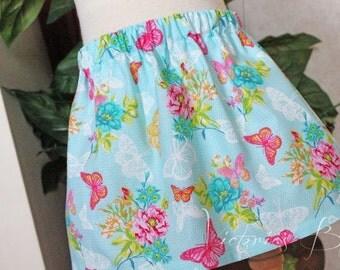 READY TO SHIP ~ Custom Boutique Girls Skirt, Toddler Girls~ Size: 18-24M