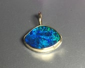 Reserved Final Payment on Custom Australian Black Opal Charm
