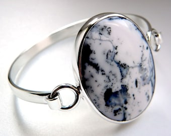 SALE 25% OFF!!! Use the coupon code: SALE25 Opal sterling silver bracelet