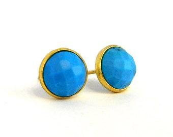 Marissa Studs | Turquoise
