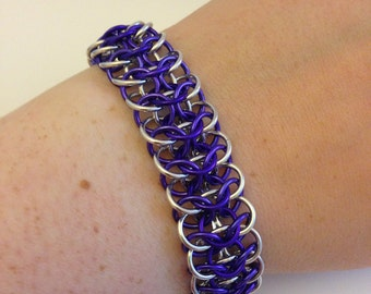 Reversible 4-in-1 weave bracelet