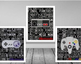Nintendo Print Set