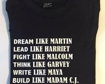 Black history tshirt | Etsy