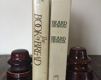 Vintage Ceramic Insulators, Brown Insulators, Vintage book ends, Insulator pair