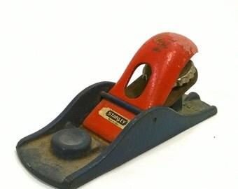 Stanley Planer, Vintage Carpenters Tools, Old Stanley Planer, Old Woodworking Plane