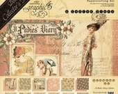 Graphic45 - A LADIES DIARY - New Deluxe Collector Edition - PREORDERs !!   Shipping Mid February
