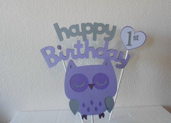 Owl First Birthday Owl Birthday Girls Owl Birthday Owl