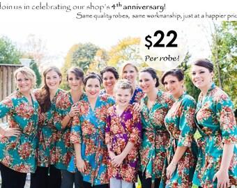 Bridesmaid Robes - Set of 10