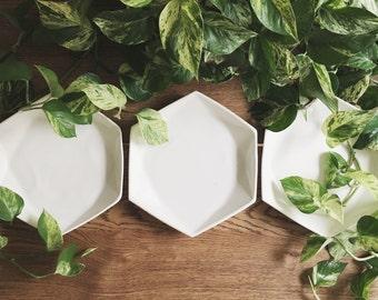 Hexagon Serving + Dinner Dish