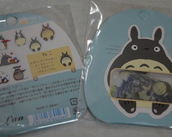 A Pack of 60 Transparent Totoro Stickers