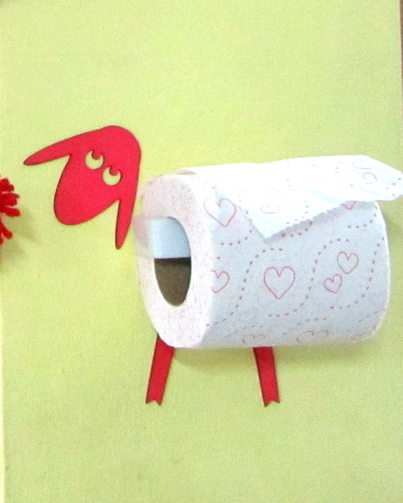 Toilet Roll Holder Tissue Holder Mounted Without Screws