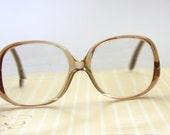 1980s Eyeglasses Frames - Vintage Women Eye Glasses - Fashion Eye Glasses - Large Eyeglasses