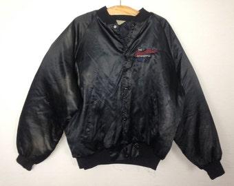 chevy the heartbeat of america windbreaker jacket size L/XL