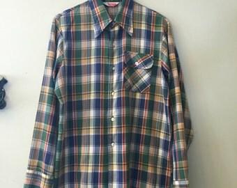 Levis Panayela Plaid longsleeve shirt size large