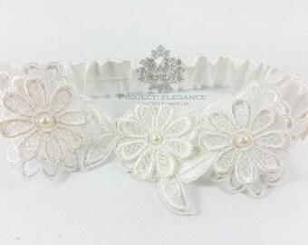 Lace wedding garter, Ivory lace garter, Ivory lace wedding garter, garter, ivory garter, wedding garter, handmade garter, bespoke garter