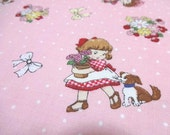 Japanese Fabric LECIEN Spring Pop Girl Pink FQ
