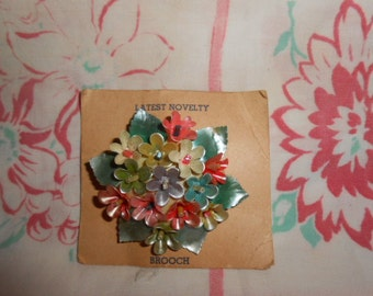 Vintage Costume Jewelry Brooch-Never Wore
