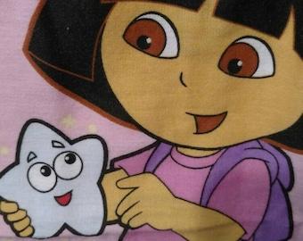 Dora Twin Flat Sheet Cotton Blend