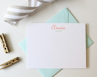 Personalized Stationery Set | Personalized Stationary | Monogram Stationary | Note Cards Handmade | Custom Note Cards
