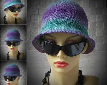 Designer Cotton Cloche Hat Chemotherapy cloche Sun Hat Cotton Beanie