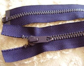 "24"" Separating Metal Jacket Zipper"