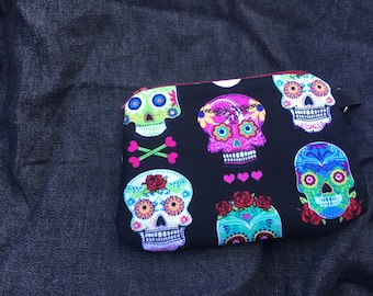 Day of the Dead Wristlet/Coin Purse 2