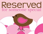 RESERVED for Susan Houston