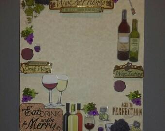 Wine&Friends memory board
