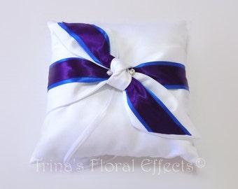 Satin Ring Bearer's Pillow
