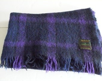 Mohair Throw Blanket By Tweedvale