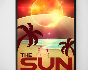 The Sun Experience Endless Summer Poster