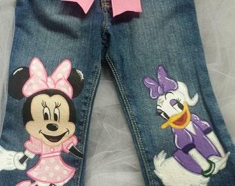 Custom Boutique Handpainted Jeans  Pick Your Favorites