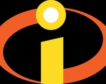 the incredibles logo embroidery file