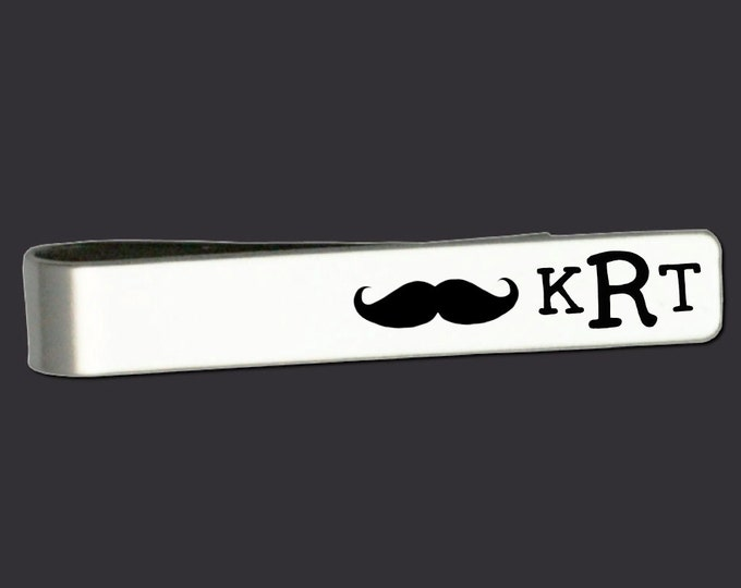 Mustache | Mustache Gift | Mustache Gifts | Mustache Tie Bar | Fathers Day Gifts | Gifts for Dad | Tie Bar Korena Loves