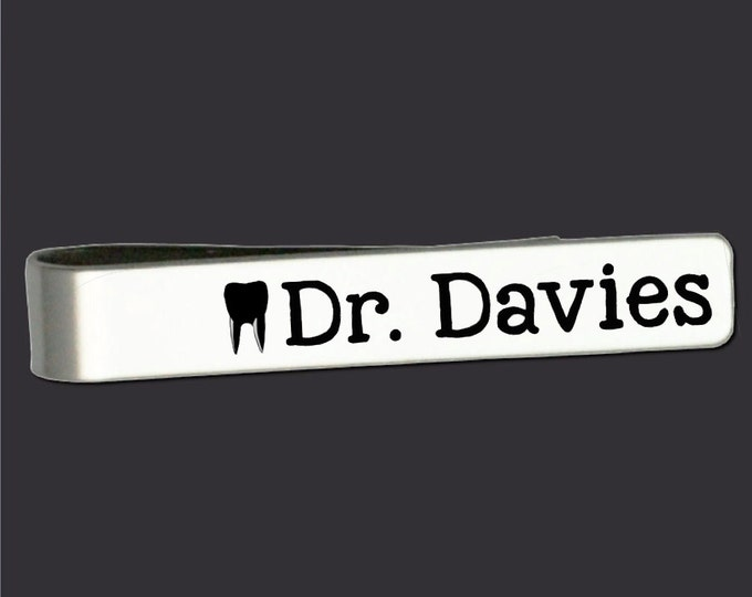 Dentist Gifts | Gift for Dentist | Dentist Tie Bar | Fathers Day Gifts | Personalized Gifts | Dentist Gift | Tie Bar