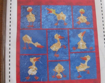Quackers Baby Quilt/Wall Hanging Pattern