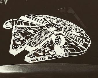 Millennium Falcon Decal