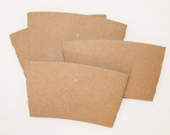 Blank coffee Sleeves - You decorate yourself DIY