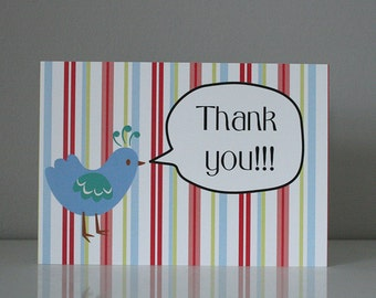 Thank you! -  Illustration Greeting Card
