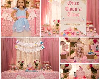 Disney Princess Inspired Printable Set